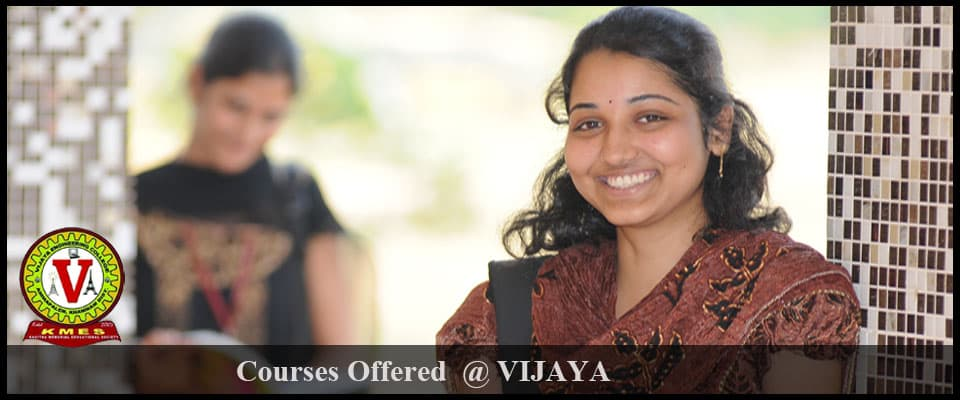 vijaya courses-offered
