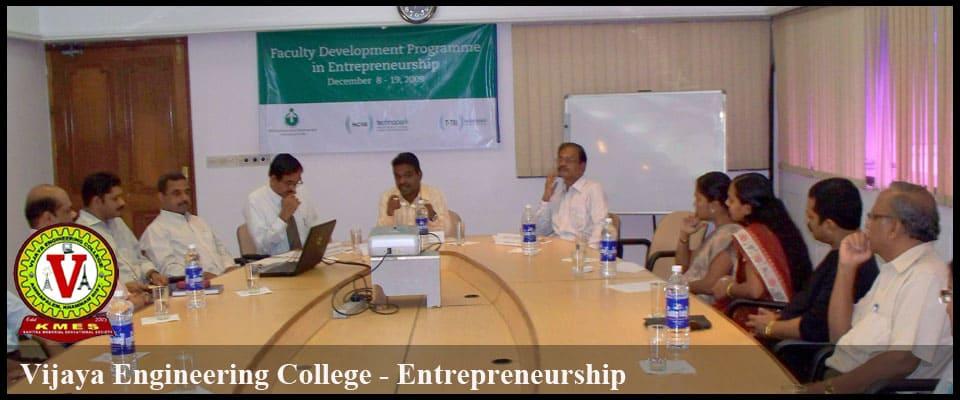 vijaya entrepreneurship