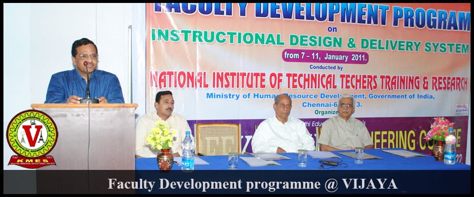 vijaya faculty-development