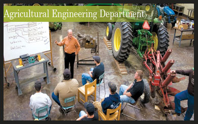 About agriculturall engineeing department