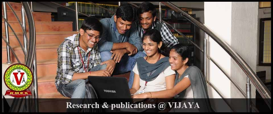 vijaya research-Publications